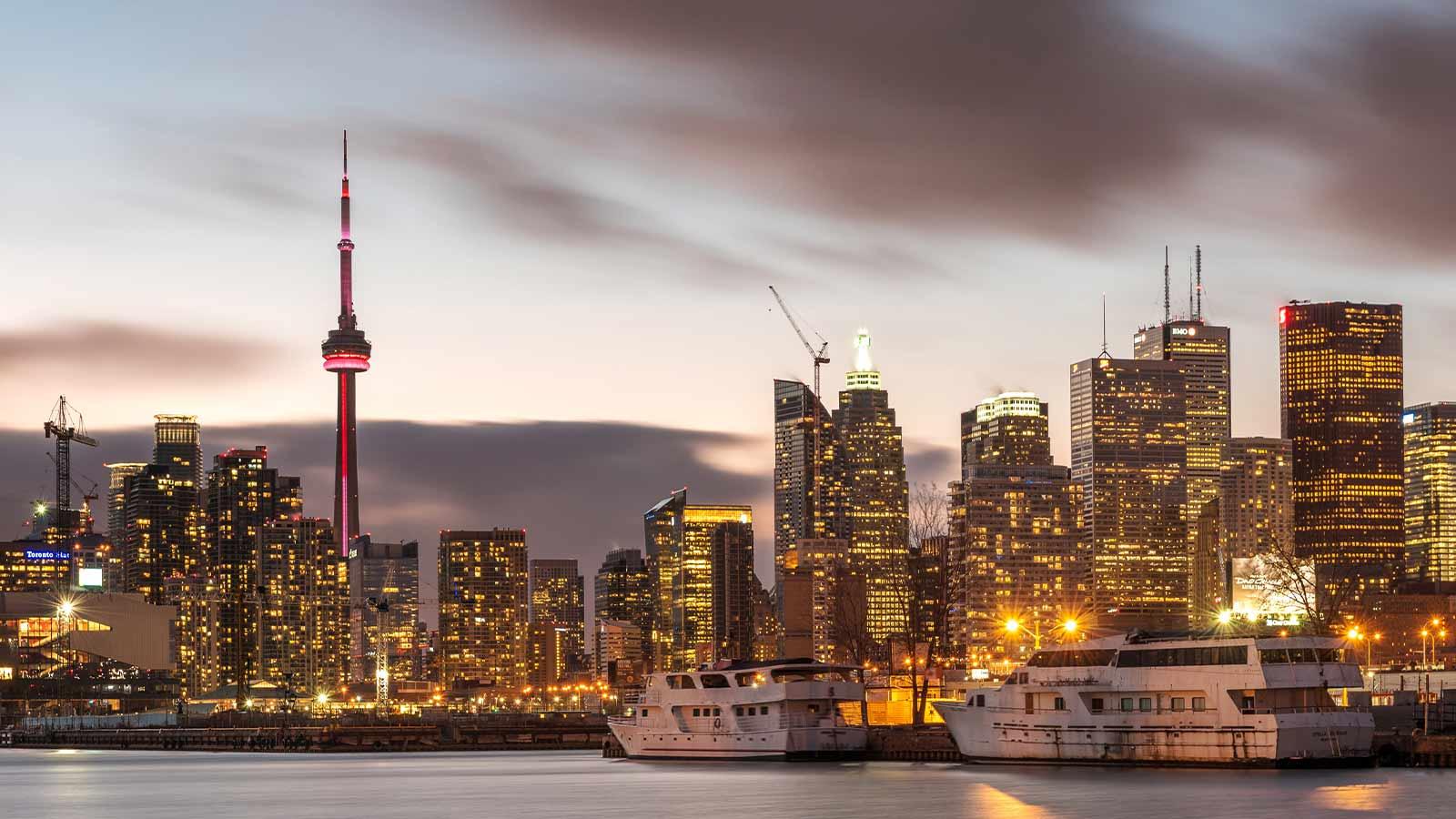 Toronto. Wiza do Kanady