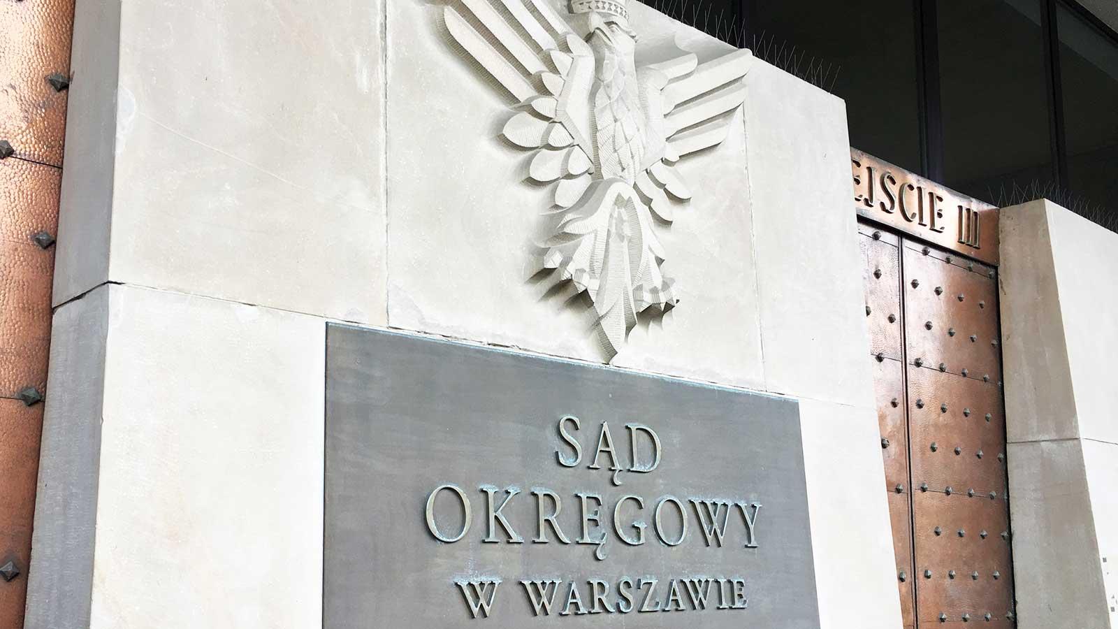 Sąd Okręgowy w Warszawie